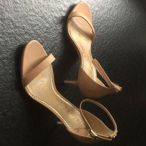 Sam Edelman NEW Patti Strappy Nude Stiletto Sandal